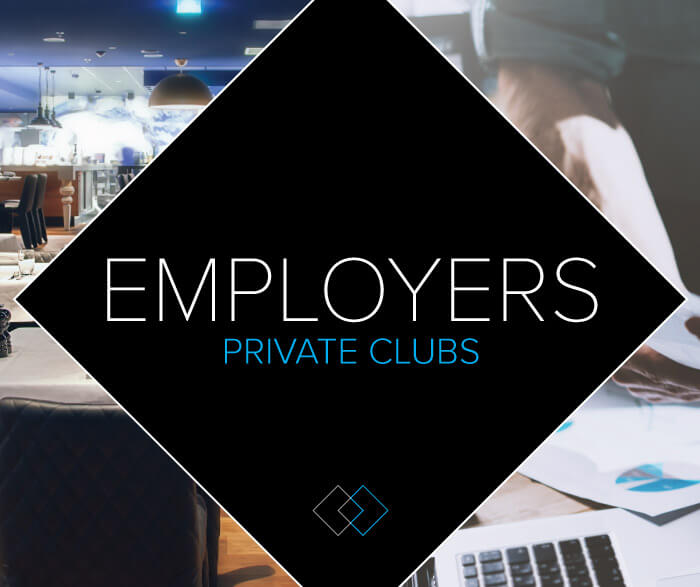 Employers-private clubs-mobile
